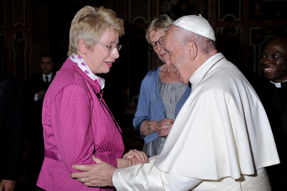 Papst Franziskus, Myriam Wijlens